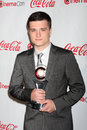 Josh Hutcherson arrives at the CinemaCon 2012 Talent Awards Stock Image