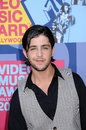 Josh peck at the mtv video music awards paramount pictures studios los angeles ca Stock Images