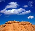 Joshua tree national park jumbo rocks yucca valley desert califo in mohave california usa Royalty Free Stock Photography