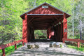 Josiah Hess Covered Bridge Historic Pennsylvania Royalty Free Stock Photo
