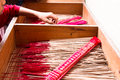 Joss Stick on th box, prepare for people burn at chinese shrine Royalty Free Stock Photo