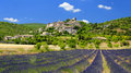 Joucas village in Provence Royalty Free Stock Photo