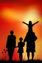 Jour de father s Image libre de droits
