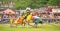 Jousting at Tain Gala Royalty Free Stock Images