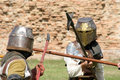 Jousting tournament Royalty Free Stock Images