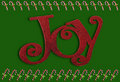 Joy and candy canes Royalty Free Stock Photography