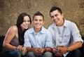 Joyful Hispanic Family Royalty Free Stock Photo