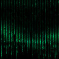 Computers  Binary Code -  Digital Abstract background Royalty Free Stock Photo