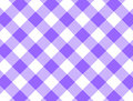 JPG gesponnener purpurroter Gingham Stockfotos