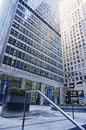 Jpmorgan chase headquarters the of jp morgan co a multinational banking and financial services company on park avenue new york Stock Photos