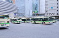 Jr osaka station bus terminal japan Royaltyfri Foto