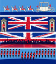 Jubilee Banners Royalty Free Stock Photos