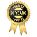 Jubilee years button with Stock Photos