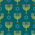 Judaism church traditional seamless pattern hanukkah religious synagogue passover hebrew jew vector illustration. Royalty Free Stock Photo