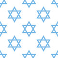 Judaism Seamless Pattern