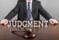Judgement concept Royalty Free Stock Photo