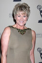 Judi Evans-Luciano arrives at the ATAS Daytime Emmy Awards Nominees Reception Stock Images