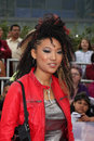 Judith hill arriving at the this is it premiere nokia theater at la live los angeles ca october Stock Photos