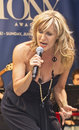 """Judy mclane sings the winner takes it all from mamma mia at """"stars in the alley """" a free outdoor concert produced by the Royalty Free Stock Image"""