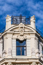 Jugend fragment of art nouveau architecture style of riga city Stock Images