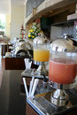 Juice at buffet restaurant Royalty Free Stock Photo