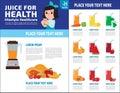 Health medical vector infographic element design illustration