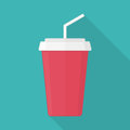 Juice and soda icon.