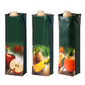 Juices cartons with screw cap different Royalty Free Stock Photography