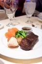 Juicy Angus Steak Royalty Free Stock Photo