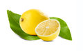 Juicy fresh lemon. Stock Photos