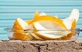 Juicy honeydew melon Royalty Free Stock Photo