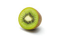 Juicy kiwi fruit isolated on white background Stock Photos