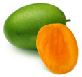Juicy Langra Mangoes of Inidan Subcontinent Stock Photography