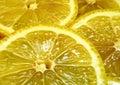Juicy Lemon Slices Stock Images