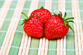 Juicy ripe strawberries Royalty Free Stock Photography