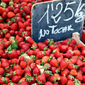 Juicy strawberries Royalty Free Stock Photos