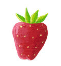 Juicy strawberry Stock Photography