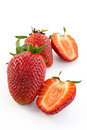 Juicy strawberry Royalty Free Stock Photos