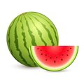 Juicy Water Melon Stock Photo