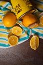 Juicy yellow lemons Royalty Free Stock Photo