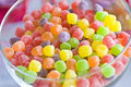 Jujube Covered With Colored Sugar Royalty Free Stock Image