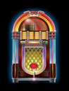 Jukebox Royalty Free Stock Photos
