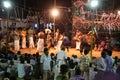 Karakattam dance with music Royalty Free Stock Photo