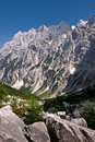Julian Alps in Slovenia Royalty Free Stock Photo