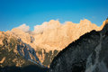 Julian Alps in Slovenia Stock Photo