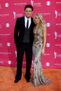 Julianne hough chuck wicks arriving at the th academy of country music awards at the mgm grand arena in las vegas nv on april Stock Images