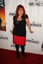 Julie brown the rock at of ages opening night pantages theater hollywood ca Royalty Free Stock Photo
