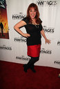 Julie brown the rock at of ages opening night pantages theater hollywood ca Royalty Free Stock Photography