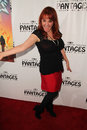 Julie brown the rock at of ages opening night pantages theater hollywood ca Royalty Free Stock Image