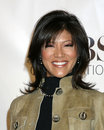 Julie chen cbs tv tca party wind tunnel pasadena ca january Royalty Free Stock Images